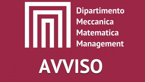 """Conferimento di n. 1 incarico per collaborazione: """"Supporto alle attività di gestione ed organizzazione delle attività"""
